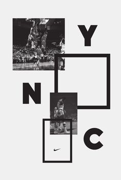 nike brand poster design | typography / graphic design: Inspiration @ Hort vs. Nike |