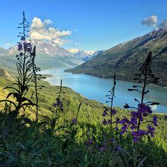 Twin Peaks Trail – Eklutna, Alaska – brittanytravelPT
