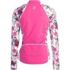 Skirt Sports Long December Cycling Jersey Shirt - Long Sleeve (For Women) in Untamed Print/Black
