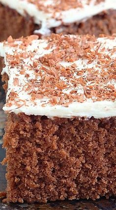 Chocolate Cake with Coffee Frosting