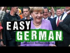 ▶ Easy German 40 - Wahlkampf mit Angela Merkel - YouTube