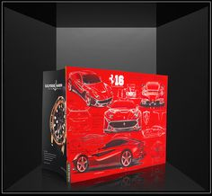 Ferrari  packaging with Soft Touch by Derprosa