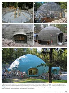 "S3 E10 - ""Nobody Will Be Ready"" David Nash has built a concrete geodesic dome…"