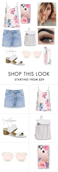 """🐚🌸🐚🌸"" by montser99 ❤ liked on Polyvore featuring beauty, Dorothy Perkins, Tahari, Aéropostale, Quay and Casetify"