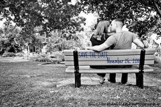 We decided not to use this one for the Save The Date -- Picture by Elizabeth Willen Photography by Julie Willen. I added the letters.