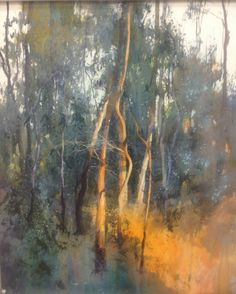 Contemporary Art Gallery Melbourne Australia - Without Pier Melbourne Art Watercolor Trees, Watercolor Artists, Watercolor Landscape, Abstract Landscape, Landscape Paintings, Watercolor Paintings, Watercolor Portraits, Abstract Paintings, Painting Art