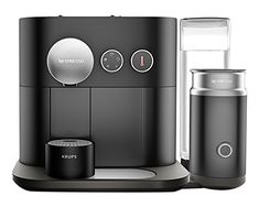 Nespresso Expert Coffee And Milk Machine, Black By Krups Automatic Ejection Lavazza Coffee Machine, Cappuccino Machine, Great Coffee, Hot Coffee, Coffee Milk, Nespresso Boutique, Chicago Coffee Shops, Coffee Table With Stools, Nespresso Machine