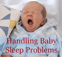 Advice on handling common baby sleep problems