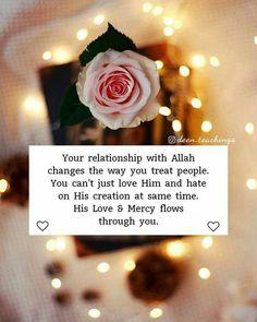 Beautiful Islamic Quotes On Love Islamic Qoutes, Islamic Teachings, Muslim Quotes, Arabic Quotes, Islamic Dua, Hindi Quotes, Quotations, Love In Islam, Allah Love