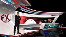IBC Virtual Set on Hybrid System for FX Design Group on Behance
