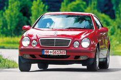 Mercedes-Benz CLK 320 (208), schon mit ESP und Navigation