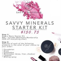 Would you like to get YL Savvy mineral make up with 24% off? Follow the steps on the picture! #Savvy #savvybyyoungliving #ylmineralmakeup