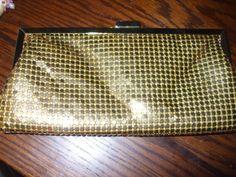 Vintage La Regale Gold Mesh Evening Bag by PAULIE22 on Etsy, $14.95