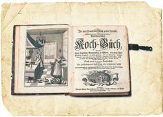 """""""Der Kurtzer"""", ein gedrucktes nürnbergisches Kochbuch, Original, 1734"""