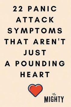 22 Panic Attack Symptoms That Aren't Just a Poundi…Edit description Causes Of Panic Attacks, Anxiety Attacks Symptoms, Anxiety Panic Attacks, Stop Panic Attacks, Anxiety Relief, Stress And Anxiety, Anxiety Tips, Health Anxiety, Wellness