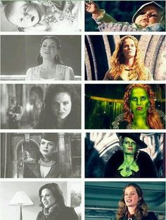 Once Upon a Time | Sisters | Regina and Zelena Umm...I think Regina's prettier...