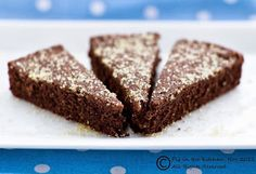 Today is a good day to...bake gluten free, vegan chocolate shortbread!