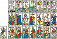 Vue du Diagramme Camoin In I revealed that by placing the cards of the Tarot de Marseille according to a precise diagram, an extremely (. Cards Diy, Second Hand Bookstore, Tarot Significado, Tarot Astrology, Tarot Readers, Major Arcana, Art Graphique, Tarot Decks, Numerology