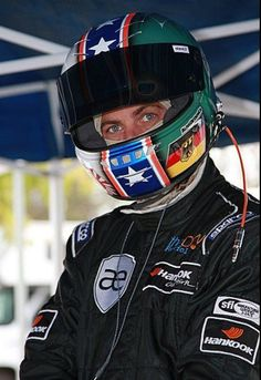 PW suited up for car race