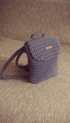 very nice Backpacks, Rope bag, Unique design Bag from rope, Handmade crochet…
