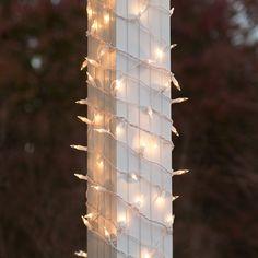 150 Light Christmas Column Wrap