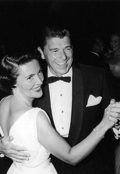 Nancy and Ronald ReaganSee more iconic American couples over on Harper's Bazaar. via @stylelist