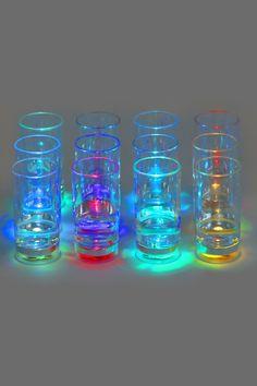 LED Flashing Shot Glasses