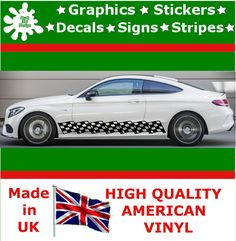 Car Stripes Racing Sticker Set Vinyl Graphics Decal Art Auto Rally JDM Viper 1