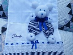 Panda, 3 D, Teddy Bear, Toys, Craft Fairs, Easy Kids Crafts, Toddler Arts And Crafts, Creative Crafts, Towel Crafts