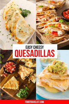 If you're looking for something to make for your family that's super easy and flexible with ingredient choices quesadillas are your new best friend. Check out these simple recipes that even the pickiest eater in your house will love. #Quesadillas #QuesadillaRecipes