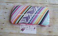 READY TO SHIP Colorful Aztec Tribal Stripes by LauraLeeDesigns108