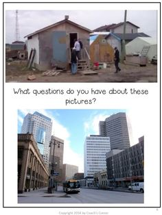 Communities in Canada:  Past & Present Part 1 (Grade 6 Ontario Social Studies unit)