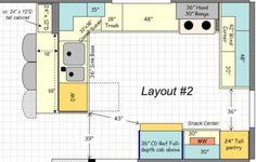 Kết Quả Hình ảnh Cho 12 X 20 Kitchen Layouts