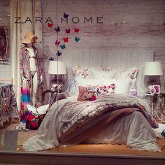 "ZARA HOME,EmQuartier, Bangkok,""Spring Bedroom Make-Over"",pinned by Ton van der Veer"