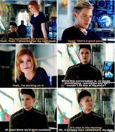 Season 1 Episode 12: Jace, Clary, Magnus