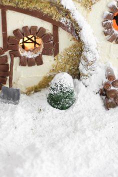 Diorama Condado - O Hobbit Sprinkle Bakes: Gingerbread Hobbit Hole