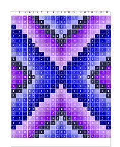 Bargello Quilt make with crochet squares or fabric Bargello Quilt Patterns, Bargello Needlepoint, Bargello Quilts, Quilting Patterns, Crochet Quilt Pattern, C2c Crochet Blanket, Pixel Crochet, Crochet Chart, Broderie Bargello