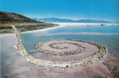 Robert Smithson - Jetty spirale - 1970