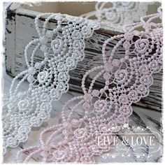 """The newest addition to LLC's wide selection of gorgeous and unique laces is Lace """"Marquisa."""