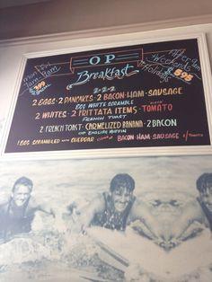 The OP Cafe in Santa Monica, CA
