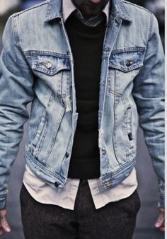 jean jacket | #themensguide