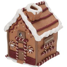 Penn State Gingerbread House Nittany Lions Christmas - sold out! Michigan State Spartans, Florida State Seminoles, Mississippi State Bulldogs, Nittany Lion, Cookie Icing, Festival Decorations, Gingerbread Houses, Texas, Fitness