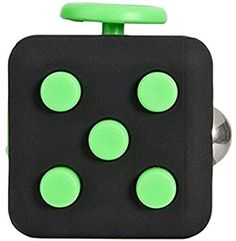 10 FIDGET-CUBE-DESK-SPINNER-TOY-STRESS-ANXIETY-FOCUS-PUZZLE-ADHD-AUTISM-THERAPY