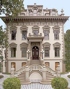 Victorian in Sacramento, CA, para esta casa le vendría bien sin duda nuestra colección Viena Monty