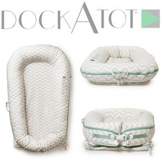 The baby gear must have from Sweden is finally available in the US. DockATot combines style, functionality and smart design in one amazingly comfy piece. Groovy in chevron #dockatot #babygear #design