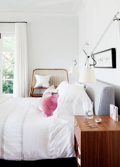 Touch of luxe: http://www.stylemepretty.com/living/2015/09/17/pretty-pink-bedrooms-for-the-sweetest-dreams/