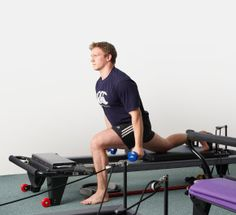 An article on Pilates for Men by TenPilates. Come on boys!