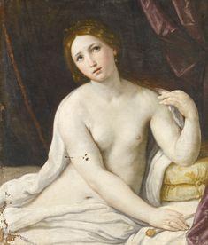 ATTRIBUTED TO GIOVANNI ANDREA SIRANI BOLOGNA 1610 - 1670 LUCRETIA