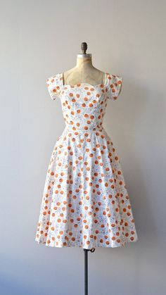 Carolyn Schnurer dress vintage 1950s dress floral by DearGolden