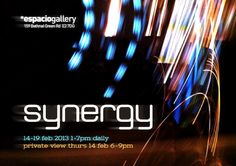 Synergy exhibition at Espacio Gallery. Bethnal Green, Jackson's Art, Caves, Art Blog, February, Neon Signs, Gallery, Artwork, Space